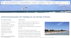 Preview of meerblick-schoenberger-strand.de
