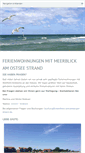 Mobile Preview of meerblick-schoenberger-strand.de